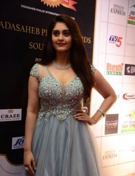 Surbhi Puranik at Dada Saheb Phalke Awards South 2019 Stills