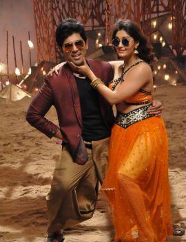 Surbhi Stills from Okka Kshanam Movie Song