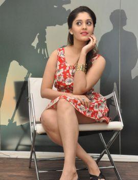 Telugu Actress Surbhi at Express Raja Interview