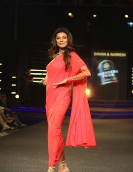 Sushmita Sen Ramp Walk Stills at BPFT 2014