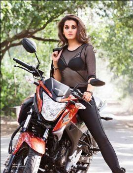 Acress Tapsee Pannu Hot PhotoShoot for Maxim India Magazine 2016