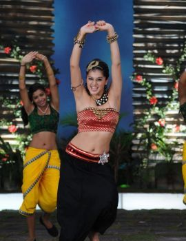 Taapsee Dance Stills from Telugu Cinema Daruvu