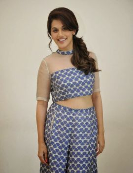 Taapsee Pannu at Baby Movie Press Meet in Hyderabad