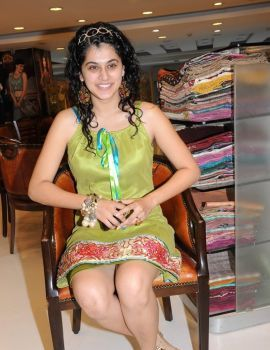 Taapsee Pannu at Neerus Store Hyderabad