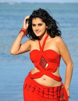 Taapsee Pannu Hot Navel Stills from Movie Veera