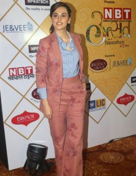 Taapsee Pannu Photos at NBT Utsav Awards 2019 Red Carpet