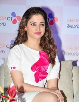 Actress Tamanna at Shop CJ Launch Photos