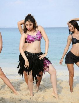 Actress Tamanna Latest Photos from Telugu Movie Rebel