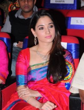 Actress Tamannaah at TSR TV9 Film Awards 2011-12