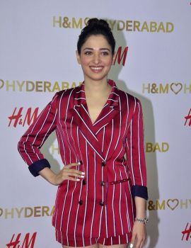 Tamanna at Red Carpet of H&M VIP Party