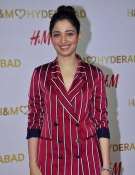 Tamanna at Red Carpet of H&M VIP Party