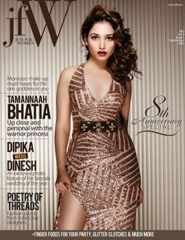 Tamanna Bhatia Hot Photoshoot for JFW Magazine September 2015