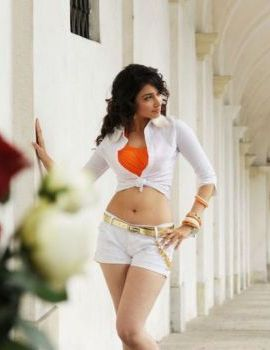 Tamanna Stills in White Dress