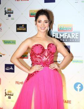 Tamannaah at the 66th Vimal Elaichi Filmfare Awards 2021