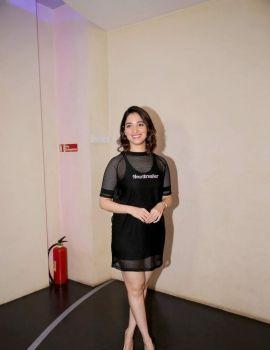 Tamannah Bhatia at the Screening of Her Telugu Film f2 at Cinepolis