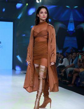 Tamil Actress Tamanna Bhatia Ramp Walk at Bombay Times Fashion Week