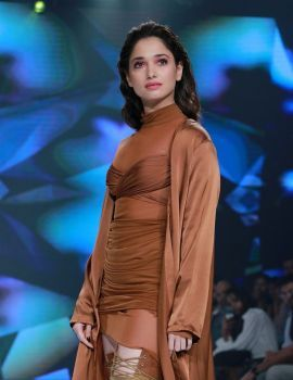 Tamil Actress Tamanna Bhatia Ramp Walk at Bombay Times Fashion Week