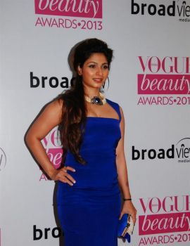 Tanishaa at Vogue Beauty Awards2013 Function