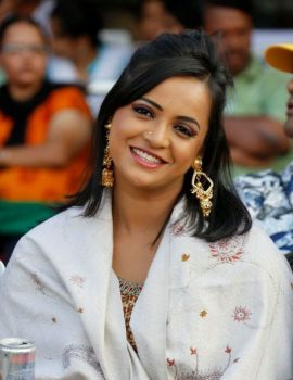 Actress Tanu Roy Photos at Crescent Cricket Cup (CCC) 2012