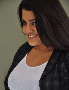 Tashu Kaushik Stills at Reporter Movie Press Meet