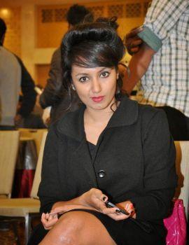 Tejaswi Madivada at Memu Saitham Stars Cricket Curtain Raiser Press Meet