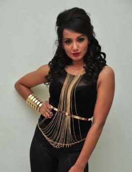 Tejaswi Madivada Latest Photos in Black Dress