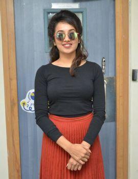 Tejaswi Madivada Stills at Babu Baga Busy 4th Song Launch