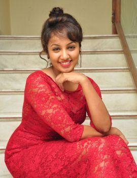 Tejaswi Madivada Stills at Kerintha Success Meet