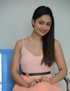 Tridha Choudhury Stills at Anukunnadi Okati Ayinadi Okati Press Meet