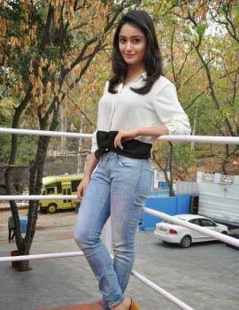 Tridha Choudhury Stills at Surya vs Surya Success Meet