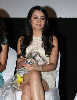 Trisha Latest Spicy Stills in White Dress