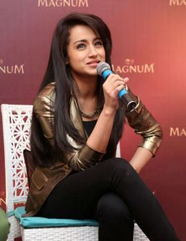 Trisha Launches Magnum Raises The Bar