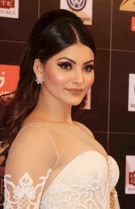 Bollywood actress Urvashi Rautela at Fair Lovely Zee Cine Awards 2017