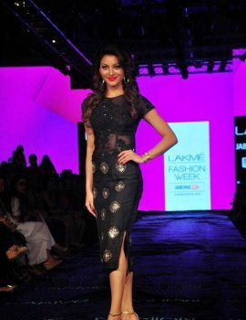 Urvashi Rautela at Lakme Fashion Week 2015