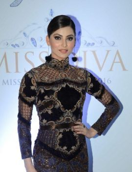 Urvashi Rautela at Yamaha Fascino Miss Diva 2016 Promo Launch