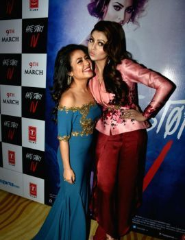 Urvashi Rautela poses at the launch of Aashiq Banaya Aapne song from Hate Story IV