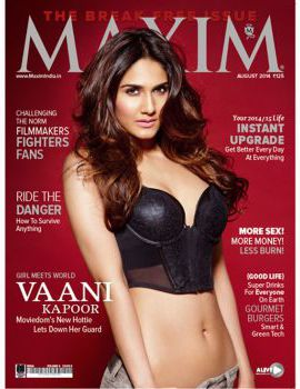 Vaani Kapoor Maxim 2014 Photo Shoot