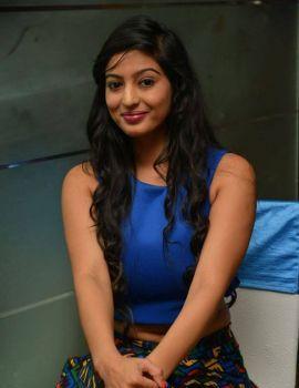 Telugu Heroine Vaibhavi Joshi Hot Navel Show Stills