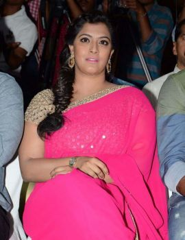 Varalakshmi at Madha Gaja Raja Audio Launch
