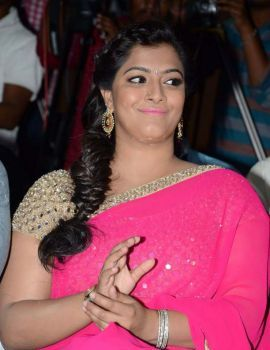 Varalakshmi at Madha Gaja Raja Audio Launch