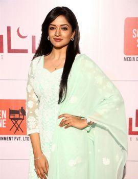 Vimala Raman Stills at Iruttu Movie Press Meet Function