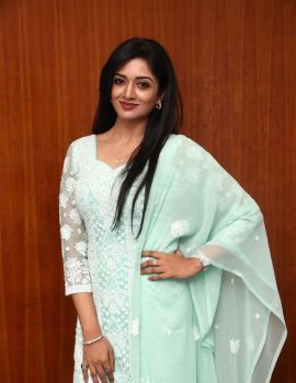 Vimala Raman Stills at Iruttu Movie Press Meet Function