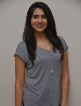 Vyoma Nandi Photos at Marala Telupana Priya Movie Success Meet