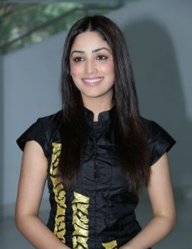 Yami Gautam at Gouravam Movie Trailer Launch