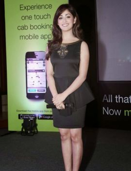 Yami Gautam Photos at Cab Booking Mobile Application Launch