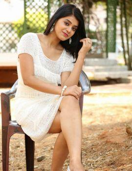 Yamini Bhaskar at Kothaga Maa Prayanam Movie Launch