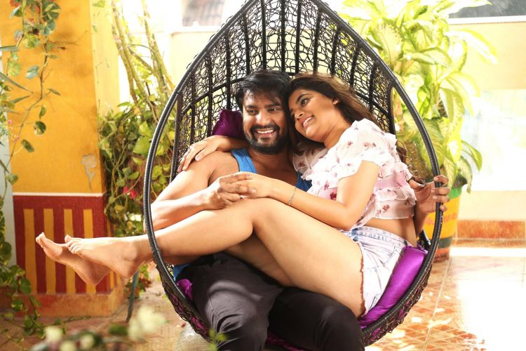 Yamini Bhaskar Stills from Kothaga Maa Prayanam Movie