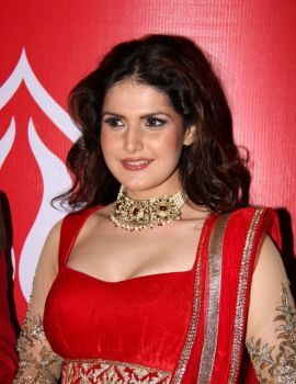 Zareen Khan on the Ramp at Hyderabad Fashion Week