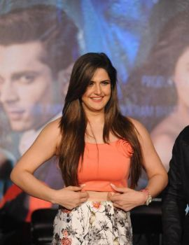 Zarine Khan at Hate Story 3 Movie Trailer Launch