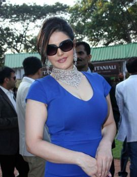 Zarine Khan at Nakshatra Indian Guineas Race 2012